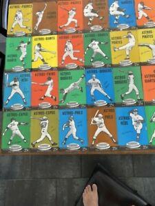 Lot of 27 Vintage 1971 Houston Astros Game Programs No Duplicates