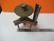 Antigüedad Latón Spherometer Lensómetro Instrumento Parte Diopt Óptica como Es
