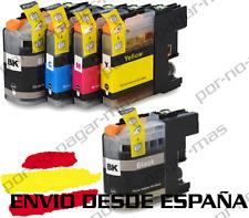 5 CARTUCHOS COMPATIBLES NonOem BROTHER LC223 DCP-J4120DW DCPJ4120DW