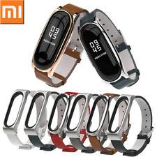 Business Stil Leder Armband Uhrenarmband Ersatz Strap für XIAOMI MI Band 3