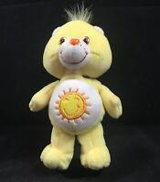 Care Bears Funshine Bear 9 inch beanbag plush Beanie sunshine yellow