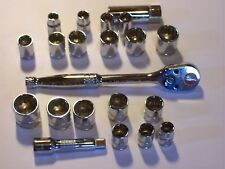 Greatneck  Metric and Standard 3/8 ratchet with sockets professional tool Lot