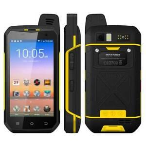 B6000 4G LTE Smartphone Zello PTT Walkie Talkie IP68 Waterproof 4GB+64GB 5000mAh