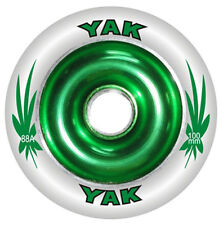 100mm x 88a YAK Metalcore Scooter Wheels with bearings, choice of eight colors
