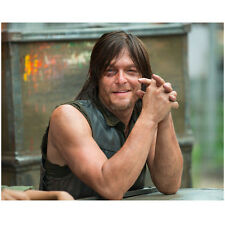 Norman Reedus in The Walking Dead as Daryl Hands Folded 8 x 10 Inch Photo