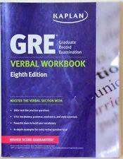 KAPLAN - GRE VERBAL WORKBOOK - 8TH EDITION - 2014