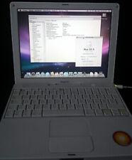 Apple iBook G4 A1133 1,33GHz 1GB RAM 80Gb HDD Mac OS X 10.5.8 12,2