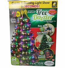 Tree Dazzler 64 LED Christmas Light Bulbs TELEBRANDS SHARKTANK Star Shower NEW