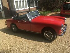 Red MG Midget 1275cc 1973 Completely restored to high standard Very low mileage