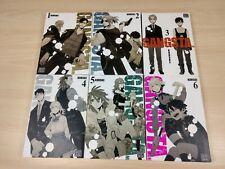 vol. 1-5 English Manga Graphic Novel NEW Gangsta Cursed