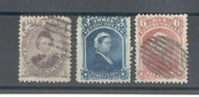 Newfoundland - Small Lot of used Stamps Year 1868