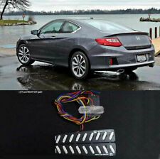 Rear Bumper Reflector 2Way Brake LED Module for HONDA 2013-2015 Accord Coupe