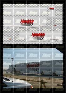 NASCAR 1/64 DECALS KB108 - KYLE BUSCH 2003 CUP #60 DITECH (HAULER)