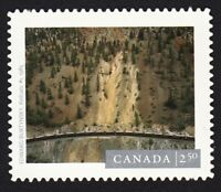 HISTORY PHOTOGRAPHY = RAILCUTS = DIE CUT from QP = Canada 2014 #2764i MNH