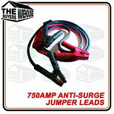 HEAVY DUTY 750AMP ANTI SURGE JUMPER LEADS 3.6M Jump Booster Cables