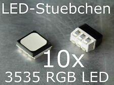 10x 3535 RGB SMD LED SOP 6 BLACK FACE diffused