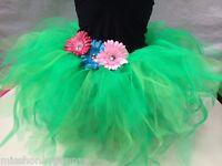 Neon Tutu Skirt 80s Fancy Dress Hen Party Fun Run Costume Plus Size Jungle Disco