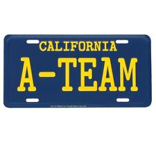 The A-team Van Ca License Plate US Made Embossed Aluminum Car Truck SUV Auto Tag