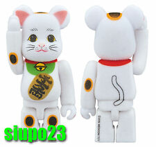 Medicom 100% Bearbrick ~ Sky Tree Lucky Cat Be@rbrick Flocky Version