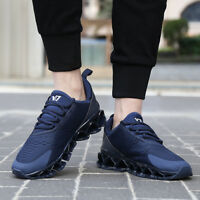 GOMNEAR Men's Big Size Running Shoes Breathable Sneakers Anti-Slip Sports Shoes