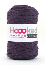 Hoooked ribbonxl 120M crochet punto tejer hilado de de Algodón-Scarlet púrpura
