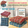 50x50cm Seat Cushions Square Soft Chair Pad Mat Dining Garden Patio Home  !