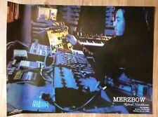 "Merzbow RARE Full Color promotional Hybrid Noisebloom wall poster! 24"" x 18"""