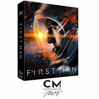 First Man - CMA#08 - Lenticular Full Slip (Bluray Limited Edition) Nuovo