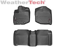 WeatherTech DigitalFit FloorLiner Floor Mat for Honda Fit - 2009-2013 - Black