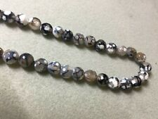 Faceted Agate Beads 10mm
