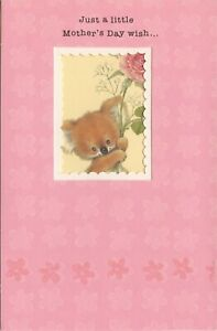 American Greetings Mother's Day Card: A Little MD Wish With Lots & Lots of Love