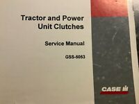 CASE Tractor and Power Unit Clutches GSS-5053 Service Manual