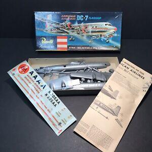 Revell American Airlines DC-7 Vintage Model Kit 1955