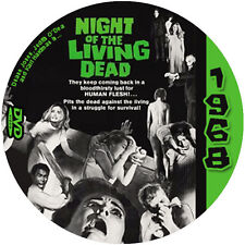 """Night of the Living Dead (1968) Sci-Fi  and Horror NR CULT """"B"""" Movie DVD"""