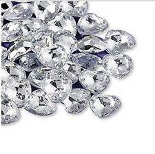 Wedding table decorations Silver Heart Diamantes