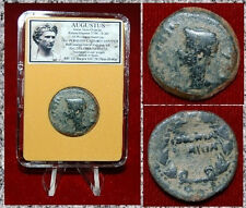 Ancient Roman Empire Coin AUGUSTUS Struck In Colonia Patricia, Spain