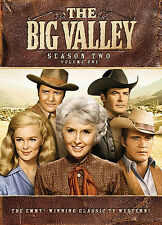 THE BIG VALLEY ~SEASON TWO ~VOLUME ONE (DVD, 2007, 3-Disc Set)  TV WESTERN