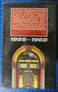 Deutsche Single Hitparade 10 Musikcassetten Box OVP NOS mint 1959-1968 T788