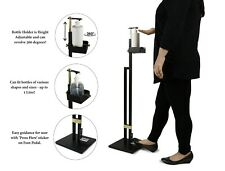 Free Standing Touch Free Hand Disinfectant Dispenser Floor Stand with Foot Pedal