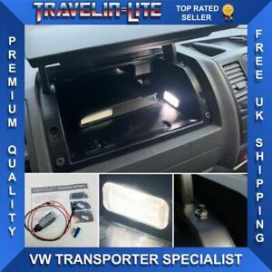 T5 Transporter LED glove box  Light Unit Upgrade & Wiring Kit Brand New 10-15