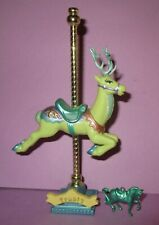 Vintage Matchbox Carousel Collection Horse Pony Animals Frosty Reindeer HTF B