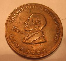 1933 E.D. Friedrich  Good Luck Medal