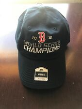 2018 World Series Champions Boston Red Sox   Baseball Hat MLB