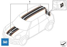 NEW GENUINE MINI COUNTRYMAN R60 YELLOW SIDE STRIPES SET DECOR 51142317861