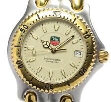 TAG HEUER Sel WG1121-0 2 Tone Beige Dial Quartz Men's Watch_545358