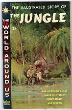 World Around Us #19 featuring Illustrated Story of The Jungle, Fine Condition