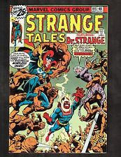 "Strange Tales #185 ~ ""Earth Be My Battleground / Ditko Art ~ 1976 (7.0) Wh"