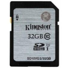 Kingston 32gb 32 GB Sd10vg2 SD HC SDHC Class 10 Uhs-i Memory Card Retail