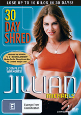 JILLIAN MICHAELS - 30 DAY SHRED WEIGHT LOSS WORKOUT REGION 4 DVD