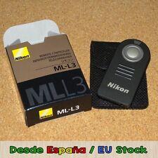 Control remoto (remote shutter) ML-L3 para cámaras Nikon (batería incluida!)